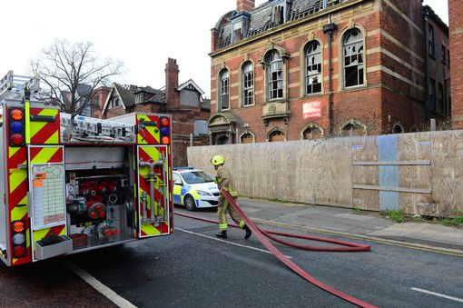 Another arson at the Grade II listed former education offices Grimsby