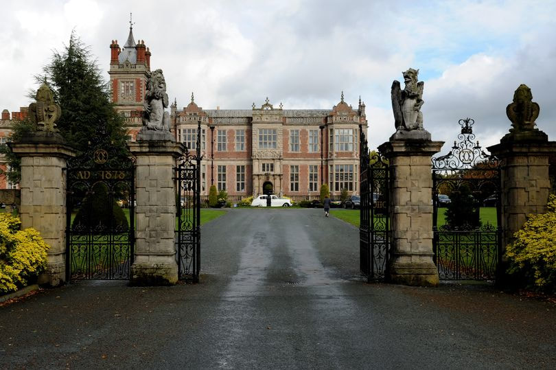 Crewe Hall in Cheshire has an incredible history.