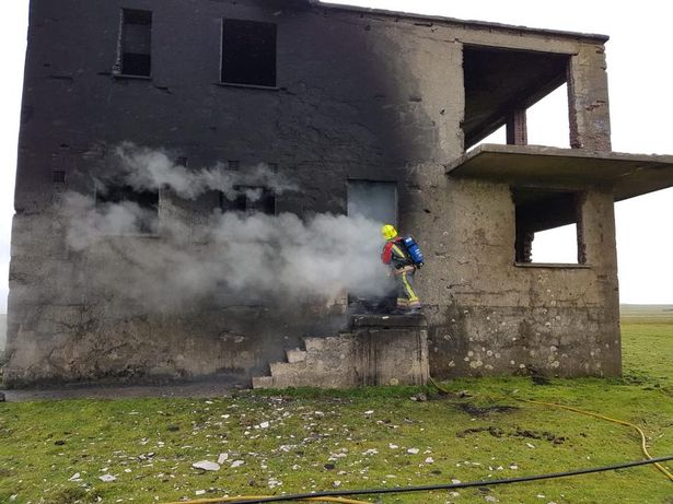 An arson incident inside the disused but unlisted control tower at Davidstow airfield has angered the community