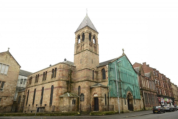St Anthony's RC Church in Govan had a lucky escape.