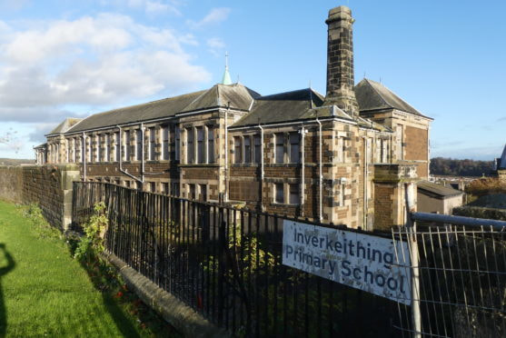 The old Inverkeithing primary school