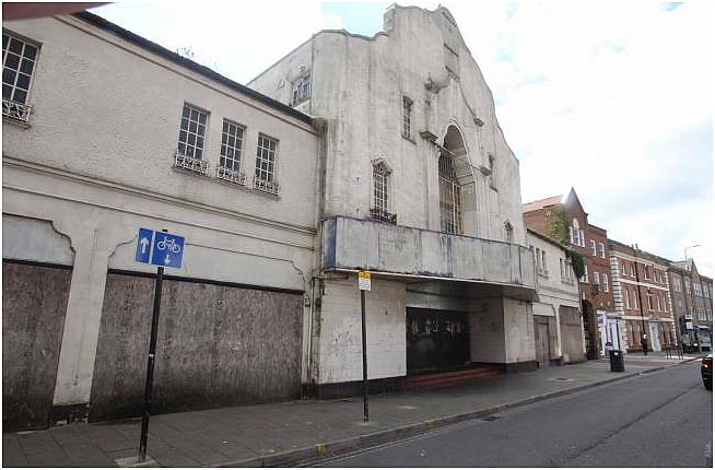 This is the second fire in the old Odeon in Crouch Street, Colchester, in just over a year.
