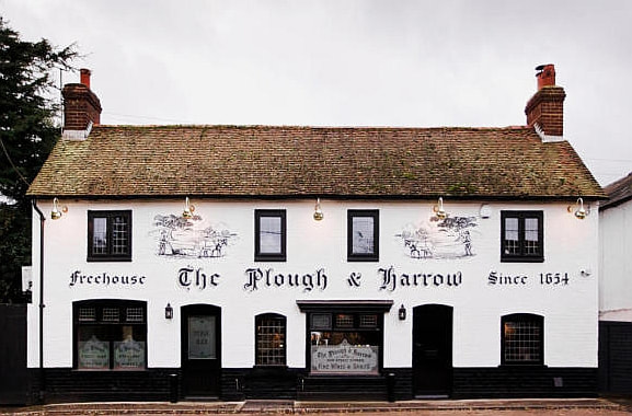The Plough and Harrow Taverna will only close for a couple of days.