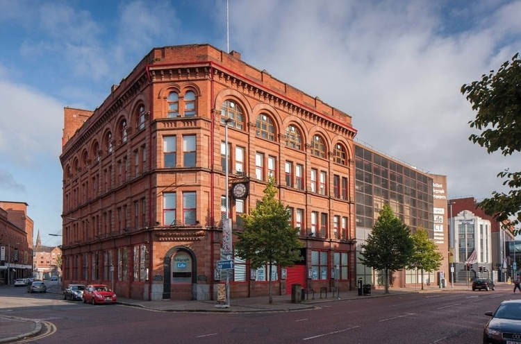 The former Belfast Telegraph Building