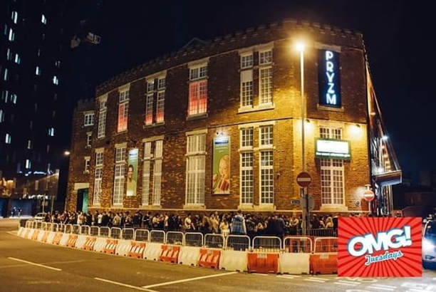 The fire was at Pryzm nightclub, in Connaught Drill Hall.