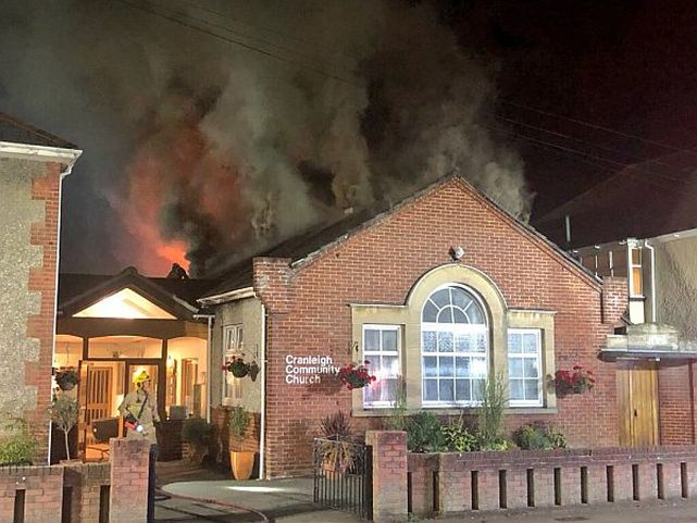 """Terrible"" damage to church in Southbourne after early hours blaze"