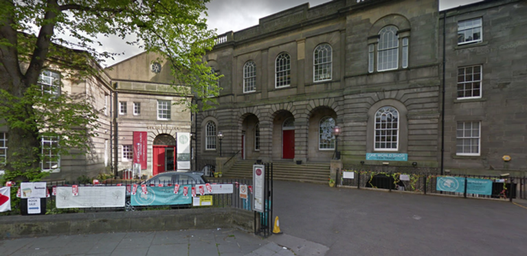 The City of Edinburgh Methodist Church was the second building targetted in the arson attacks on Tuesday.