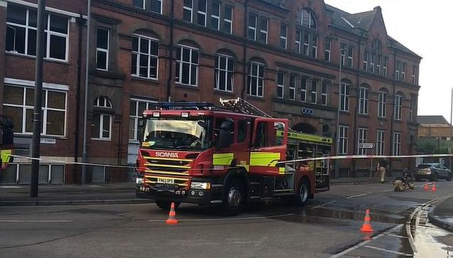 The Fire Service at Fleet House on Monday