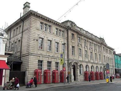 The substantial and attractive Grade II listed former GPO