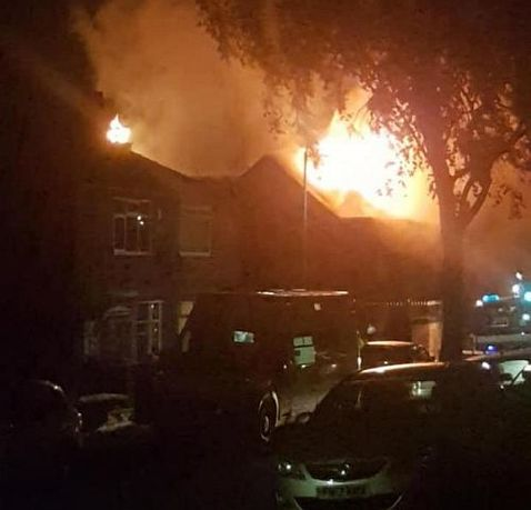 Five fire engines from Bolton, Farnworth and Hindley attended the blaze through the night.