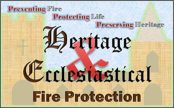 Heritage & Ecclesiastical Fire Protection Logo