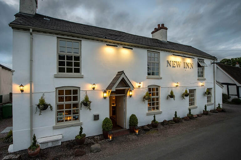 The New Inn has been damaged by a kitchen fire