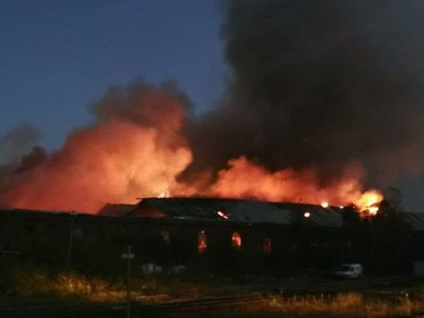 Fire chiefs confirmed that the blaze was started deliberately.