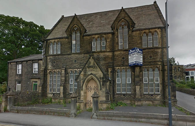 The empty Grade II listed building that was formerly St Stephen's School, Skipton.