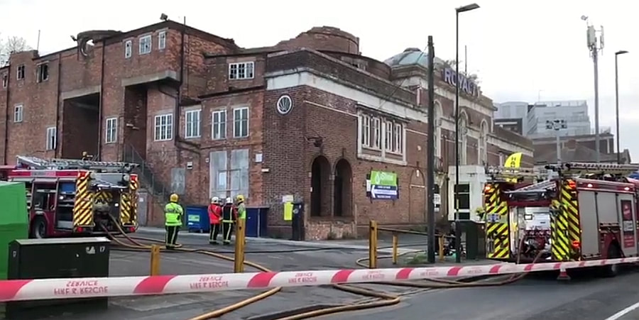 The Art Deco Grade II listed Harborne Royalty Cinema has been hit by another fire.