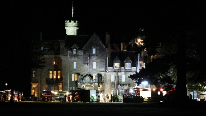 Six appliances have been sent to Skibo Castle, near Dornoch in Sutherland