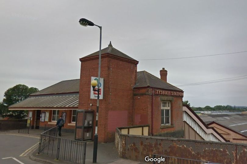 A fire broke out at Tyseley railway station (Credit: Google)