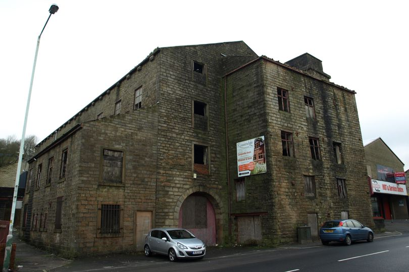 Waterside Mill in Bacup.